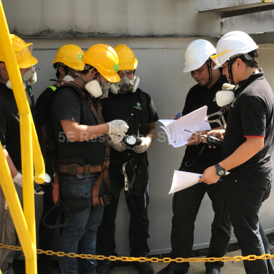 Training Confined Space at 5E